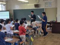 南古谷小学校授業参観10