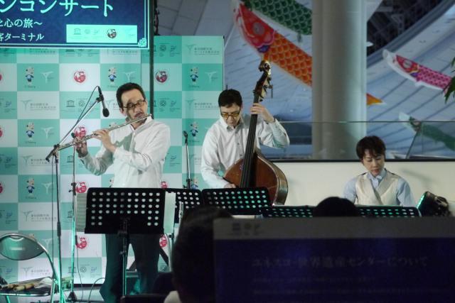 【ご報告】4/8(金) 東京国際空港国際線旅客ターミナルで開催された「世界遺産トーチランコンサート」に東邦音楽大学附属東邦中学高等学校合唱団が出演しました。[写真付報告]