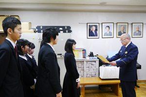 【ご報告】大塚警察より感謝状をいただきました。