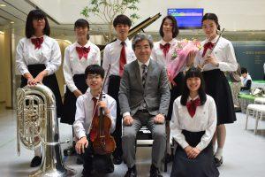 【ご報告】令和元年度 初めてのボランティアコンサートである、都立大塚病院内ミニコンサートにおいて、音楽を届けに行ってきました。
