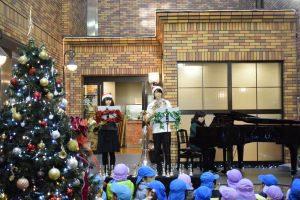 【ご報告】グローバルキッズ・きゅーぴーるーむ・アリア文京大塚の みなさまをむかえて、クリスマスコンサートを行いました。