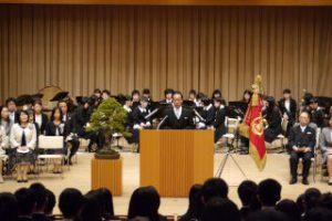 【ご報告】平成28年度 東邦音楽大学附属東邦第二高等学校の入学式を挙行いたしました。