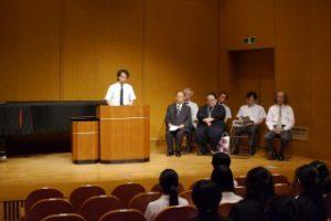 【ご報告】平成28年度奨学金伝達式を行いました