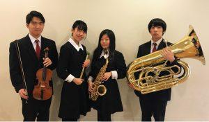 2019年1月24日(木) 東邦音楽大学附属東邦第二高等学校生徒によるプリンスサロンコンサート