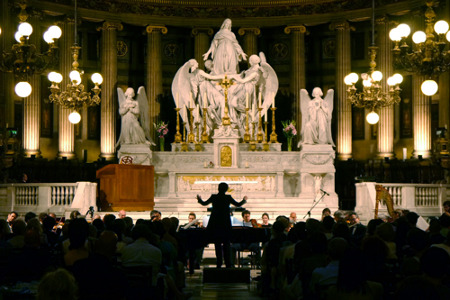 【ご報告】フランス・パリ マドレーヌ寺院にて開催された「世界遺産トーチランコンサート」に東邦音楽大学附属東邦中学高等学校有志合唱団が出演しました。