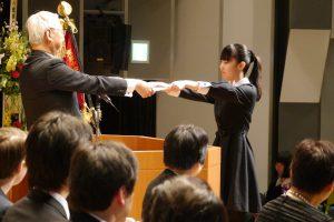 中高卒業式