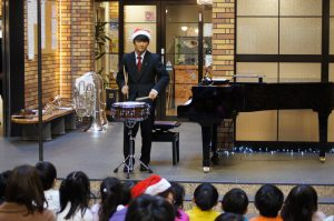 【ご報告】グローバルキッズのみなさんをむかえて、クリスマスコンサートを行いました。