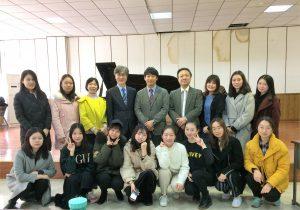 中国武漢音楽学院訪問