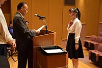 【ご報告】平成29年度「奨学金伝達式」を執り行いました。