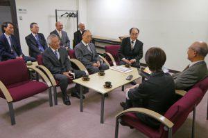 松浦晃一郎氏(第8代ユネスコ事務局長)が文京キャンパスに来校されました。