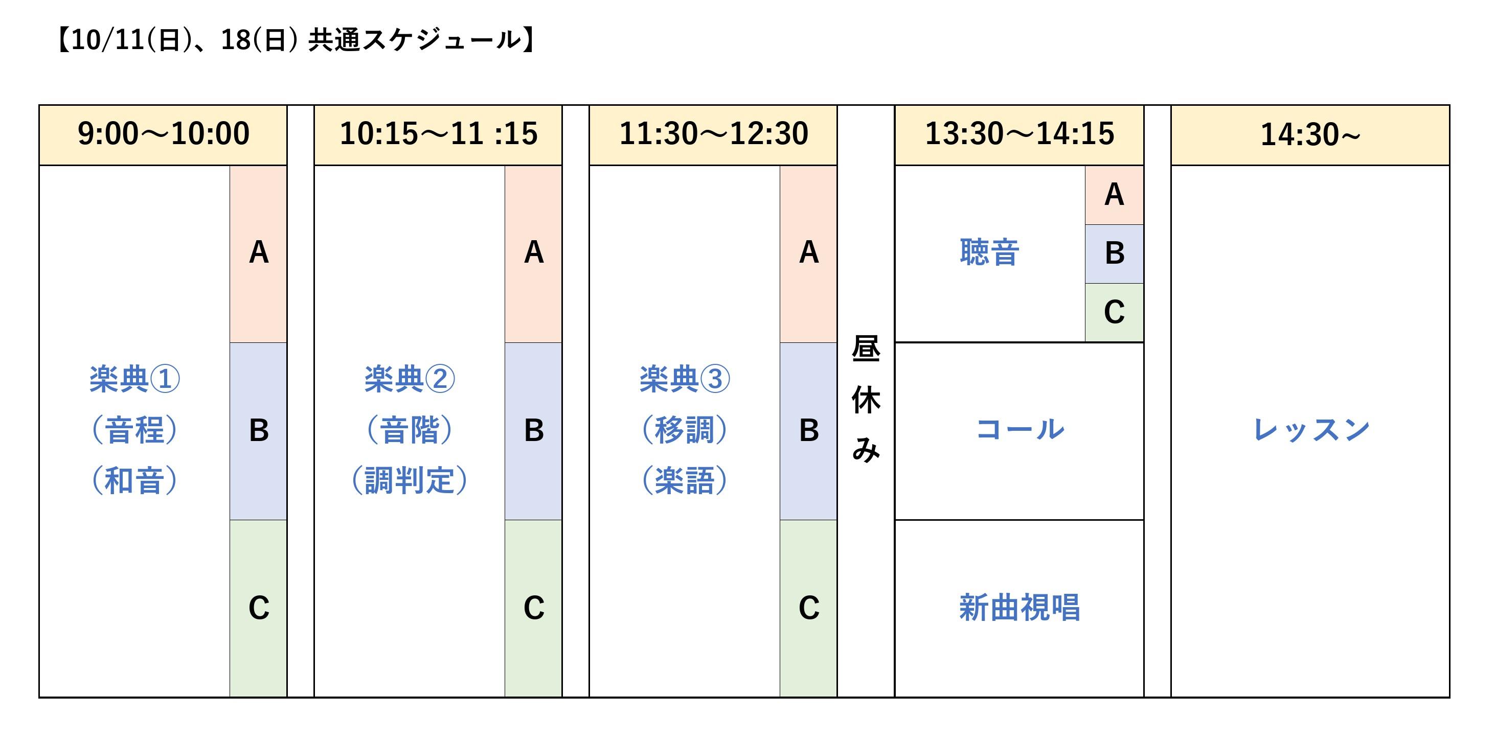 10月11日(日)、18日(日) 秋期講習会~スキルアップのための受験講習会~
